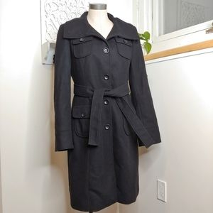 GAP Wool Blend Trench Coat